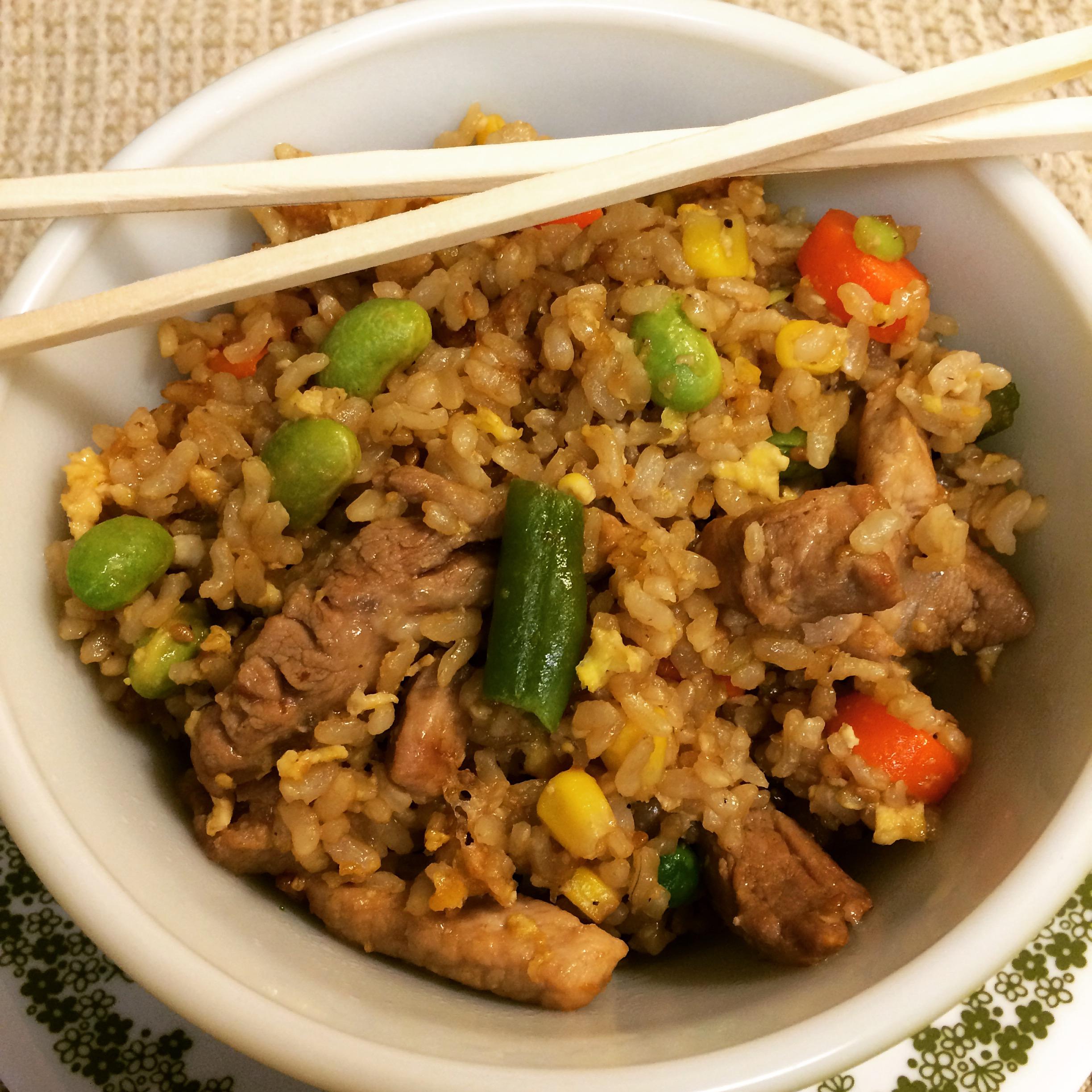 How To Make Chinese Restaurant Pork Fried Rice
